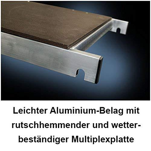 Arbeitsh/öhe 7 m neu Fahrtraverse und Wandanker inkl T/ÜV-gepr/üft Rollen ALTEC Rollfix 700